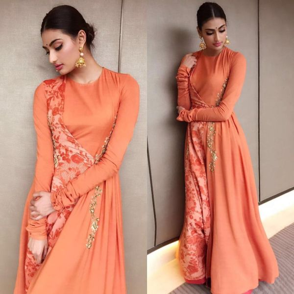 5 athiya shetty orange is bollywood's new black