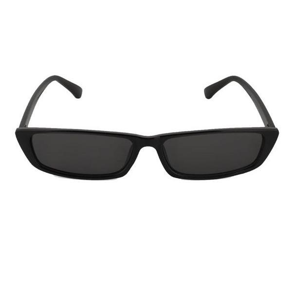 9 college - SUNGLASSES- BLACK MICRO