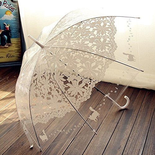 2. Lace Rain Umbrella