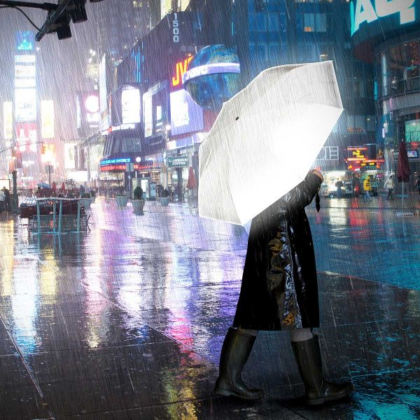 6. Reflective Umbrella