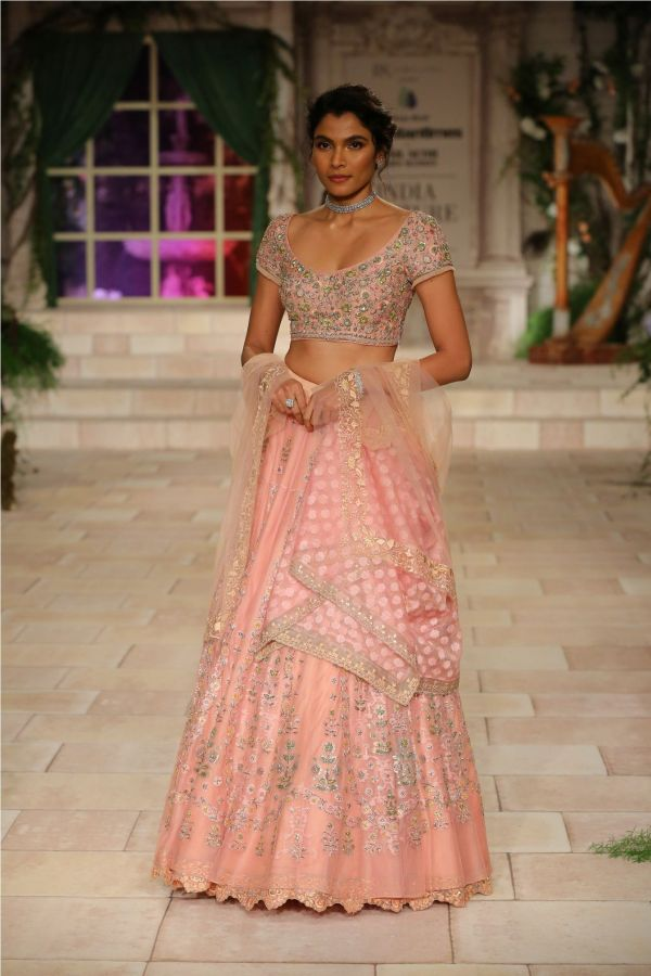 A MAIDEN'S PRAYER Showcased by Designer Anju Modi at India Couture Week %2812%29