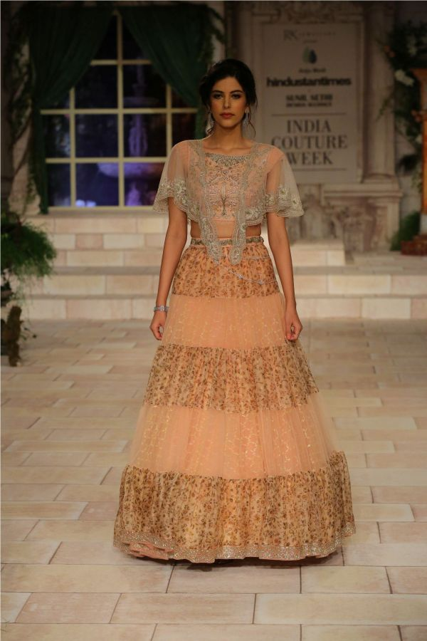 A MAIDEN'S PRAYER Showcased by Designer Anju Modi at India Couture Week %284%29