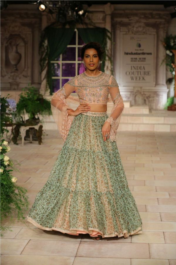 A MAIDEN'S PRAYER Showcased by Designer Anju Modi at India Couture Week %286%29