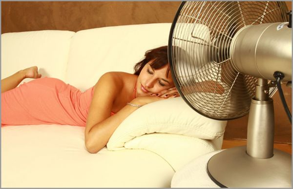 Sleeping with Fan