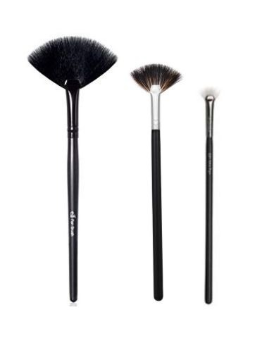 fan brushes sizes