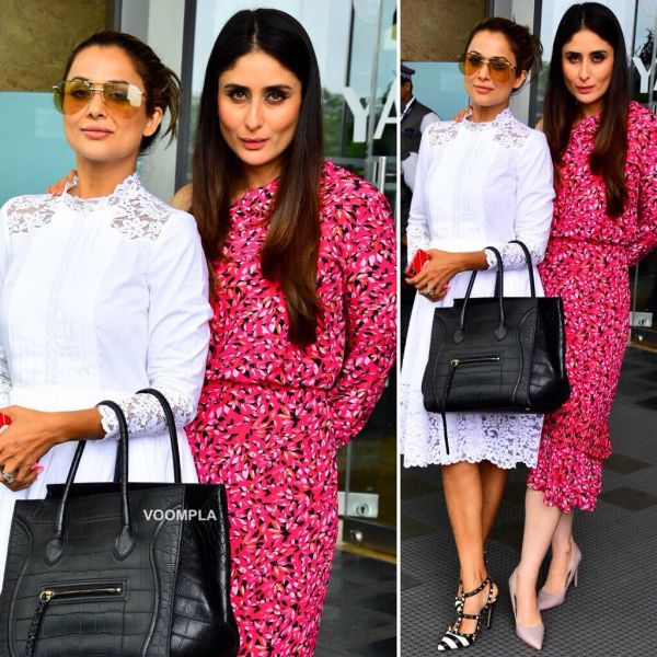 4.1 kareena kapoor khan - posing with amrita arora