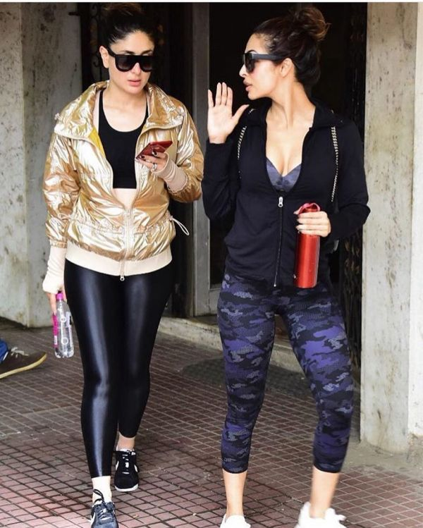 4 kareena kapoor - gym buddies with malaika arora khan