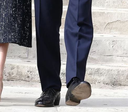 prince harry meghan's birthday hole in shoe