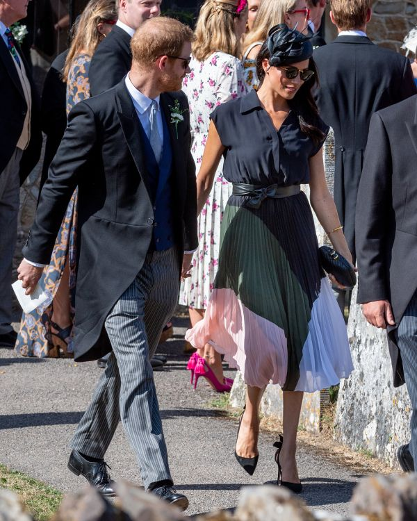 prince harry meghan markle hole in shoe