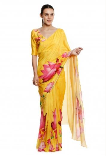 1 shilpa shetty - house of masaba gupta saree online