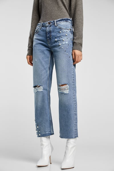 4 flared jeans
