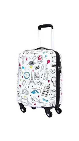 9 genie stylish cabin luggage bags