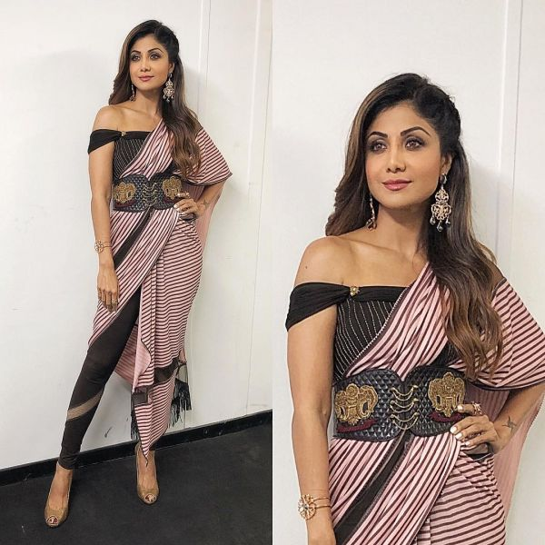 shilpa shetty mesh leggings 1