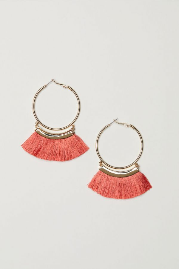 1 gifts - h m Tasselled earrings