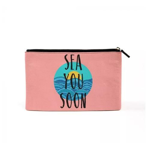7 gifts - see you soon makeup pouch