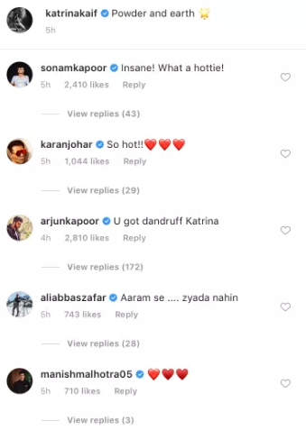 Arjun Kapoor comments on Katrina Kaif's picture