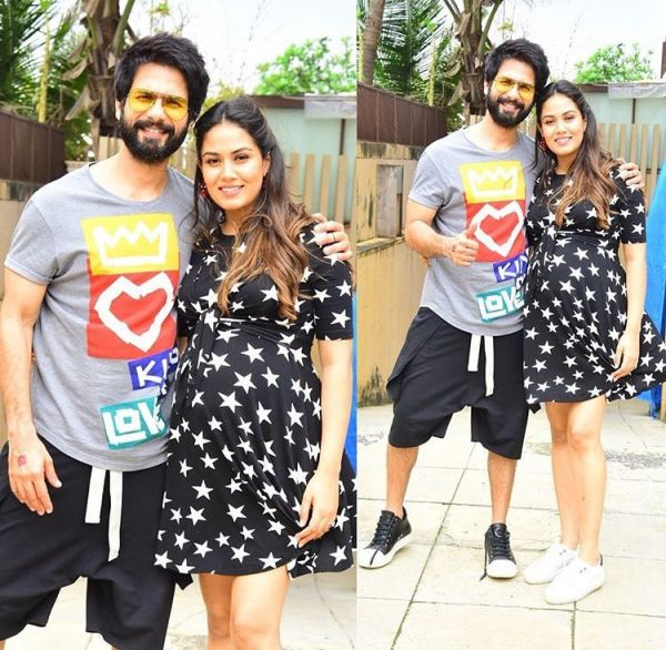1 mira kapoor - shahid and mira at misha's birthday party