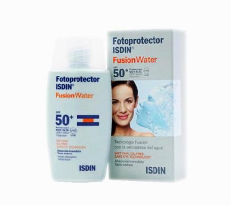 Fotoprotector ISDIN Fusion Water SPF 50 sunscreen internal 3