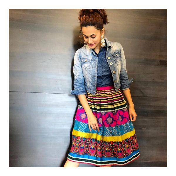 taapsee wore western and looked desi 4