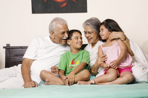 1 Importance of Grandparents Family together