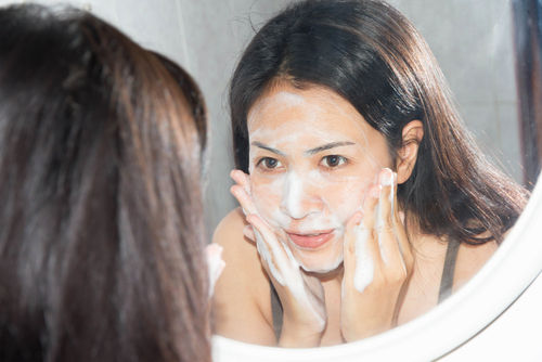face cleansing hindi