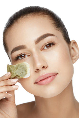 Home remedies to cure dark circles - green tea bags