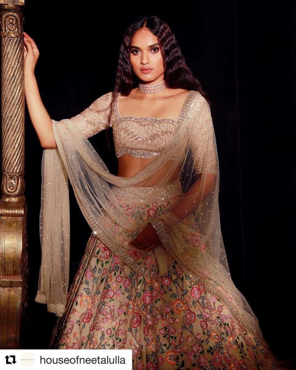 indian-wedding-dress-guide-neeta-lulla-fawn-lehenga