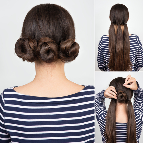 10-hairstyles-for-saree-triple-twisted-bun