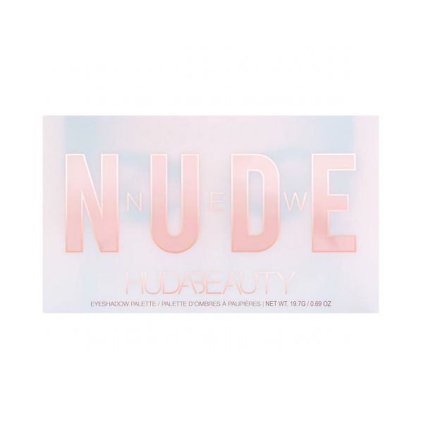 Huda Beauty  New Launches  Swatches  New Nude Eyeshadow Palette %285%29