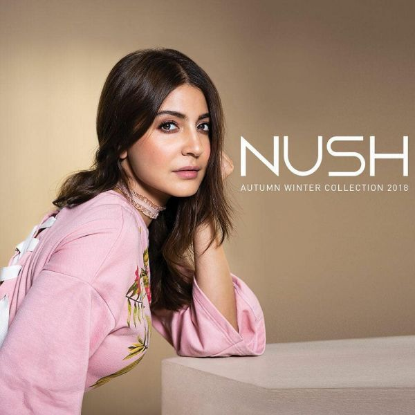1. female celebrities with their own businesses - nush by anushka sharma