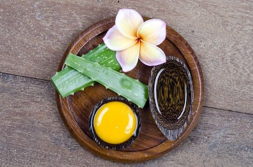 Anti Aging home remedies Aloevera Egg