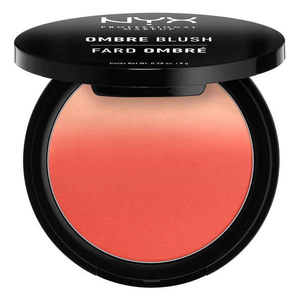 Dusky Skintone orange blush NYX Professional Makeup Ombre Blush - Feel The Heat