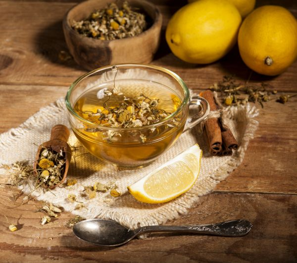 All You Need To Know About Chamomile Tea - preparing chamomile tea