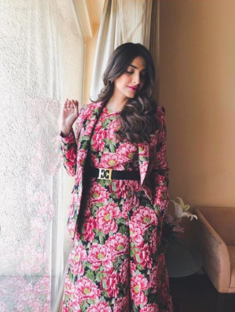 sonam head to toe floral 3