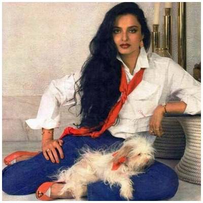 Bollywood Diva Rekha