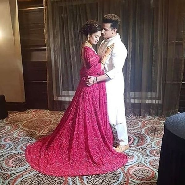 Yuvika Chaudhary and Prince Narula engagement