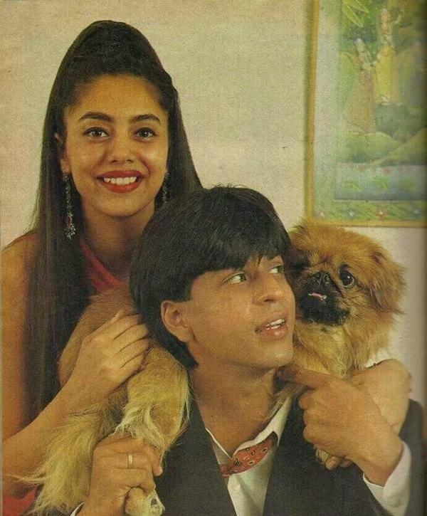SRK and Gauri early days
