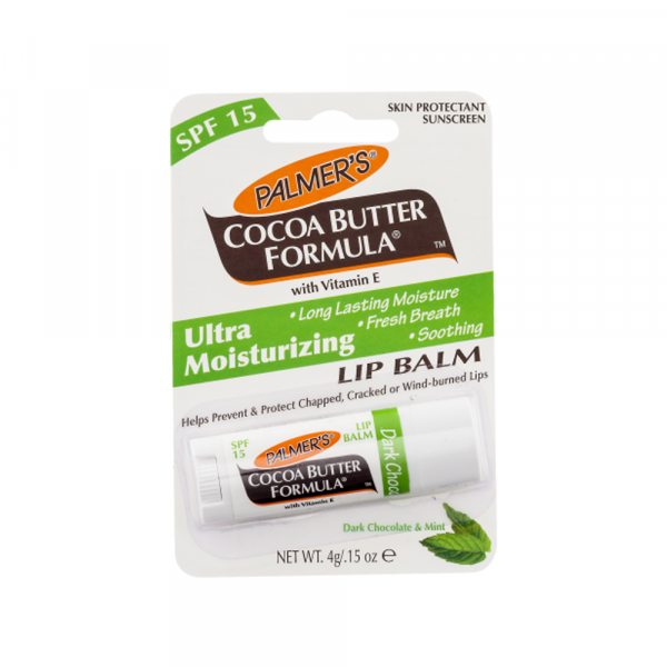 2 Palmer's Cocoa Butter Formula Lip Balm SPF 15 - Dark Chocolate   Mint