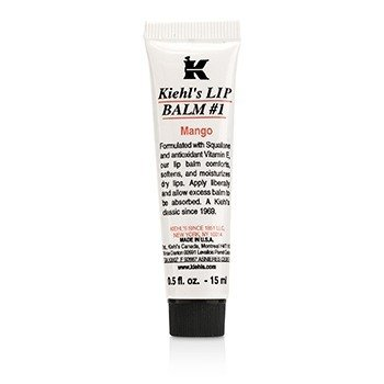4 Kiehl's Lip Balm   1 Mango lip balms for winter