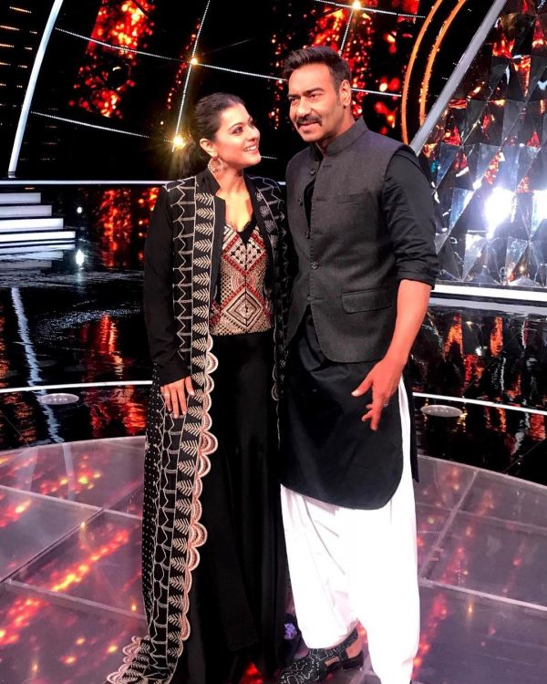 Kajol Reveals Why No One Wanted Her To Marry Ajay Devgn- Kajol Ajay Black