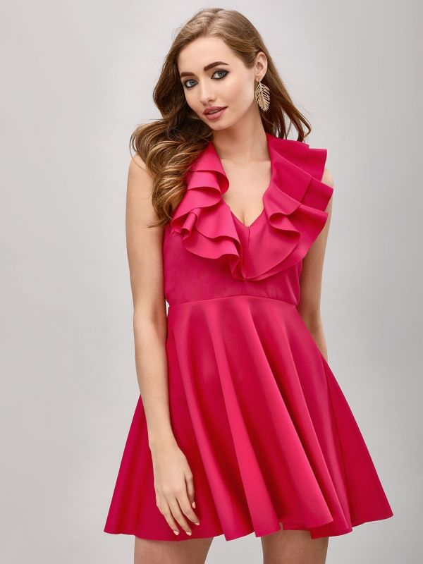 7-breast-cancer-awareness-pink-dress