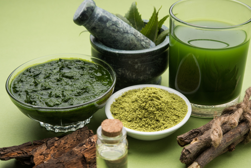 neem oil diy paste