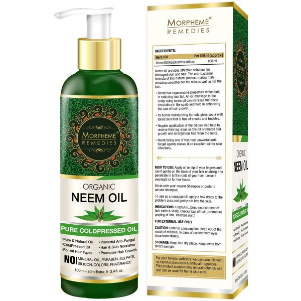 neem oil morpheme remedies organic neem oil