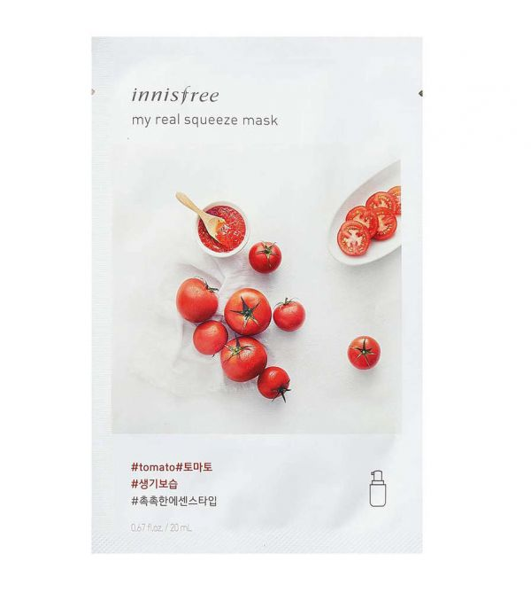 19 sheet mask innisfree tomatoes