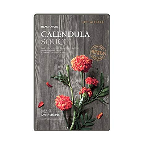 21 sheet mask calendula