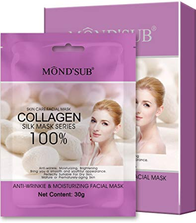 4 sheet mask MOND'SUB Anti-Wrinkle   Moisturizing Face Mask Sheet