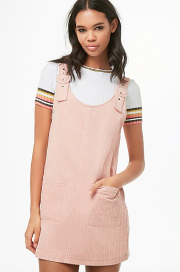 forever21-dungaree-dress-blush-pink-colours-that-look-good-on-everyone