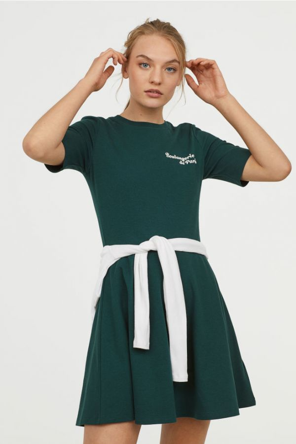 hm-teal-jersery-dress-colours-that-look-good-on-everyone