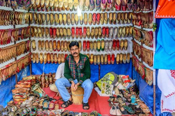 Shoe-Market-at-Lajpat-Nagar-