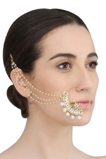 34-Jewellery-design-GOLD-PLATED-HANDCRAFTED-KUNDAN-EMBELLISHED-PEARL-STRING-MUGHAL-NATH